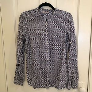 Gap Print Button Down